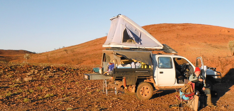 What size caravan is practical for a Hilux? Ute_ed10