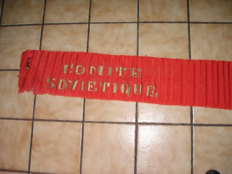 bandeau trouve chez un communiste ancien ffi S_01310