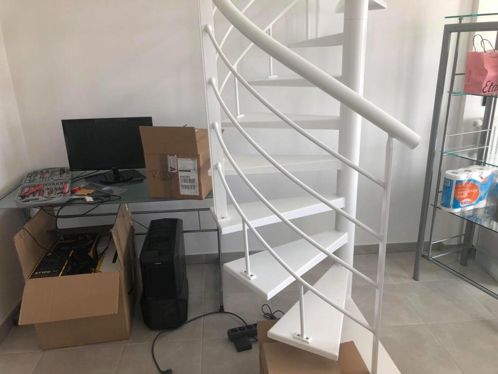 Aide aménagement escalier colimaçon 39053810
