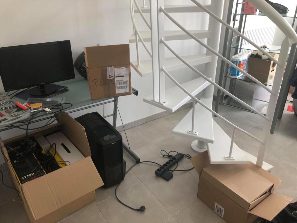 Aide aménagement escalier colimaçon 39085210