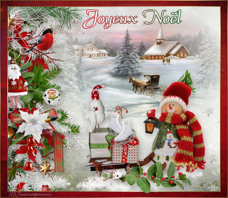 Cartes de Noël N° 3 Mcnoel11