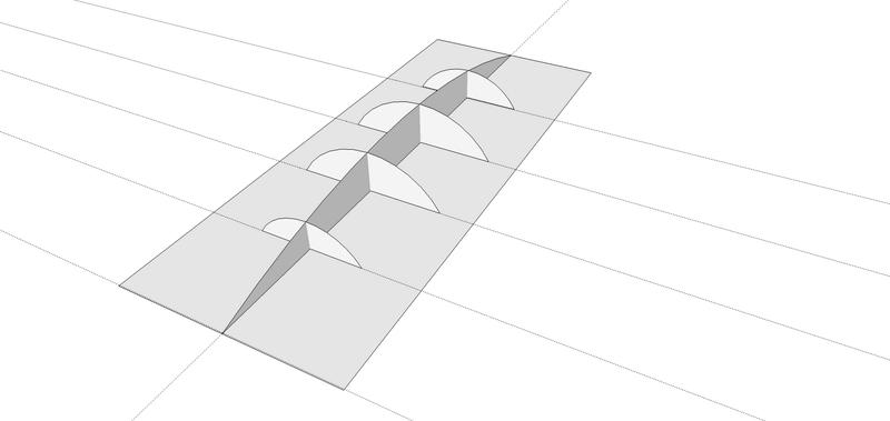 """[Sketchup] Modélisation d'une forme """"complexe"""" Fleur_10"""