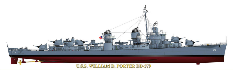 USS WILLIAM D PORTER DD-579 TAMIYA 1/350 2_13_010