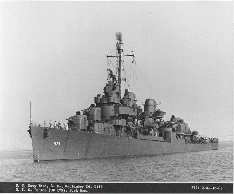 USS WILLIAM D PORTER DD-579 TAMIYA 1/350 Billpo10