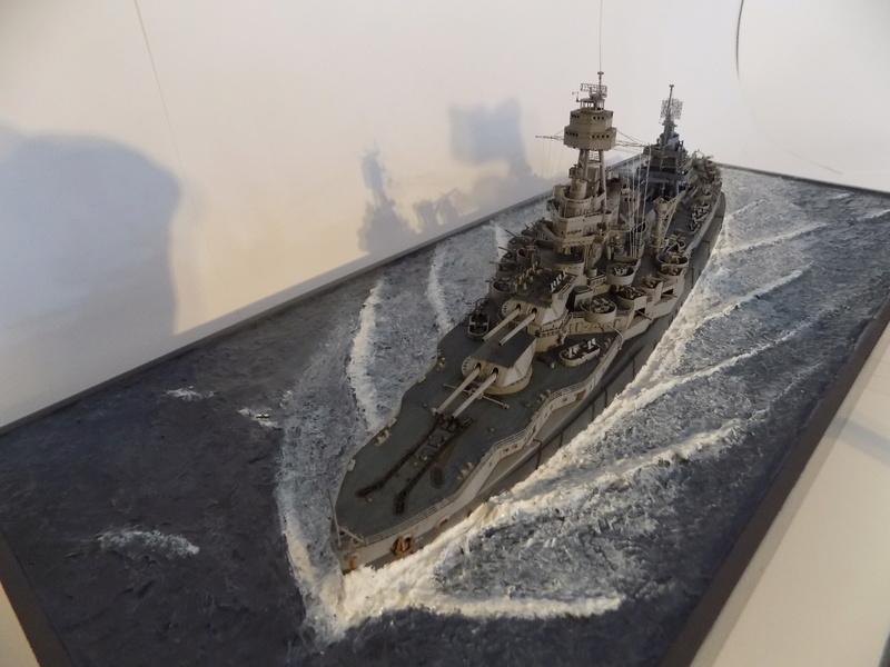USS TEXAS 1/350 TRUMPETER Dscn0226