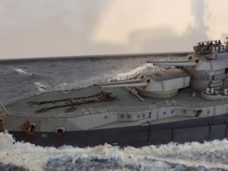 USS TEXAS 1/350 TRUMPETER Dscn0228