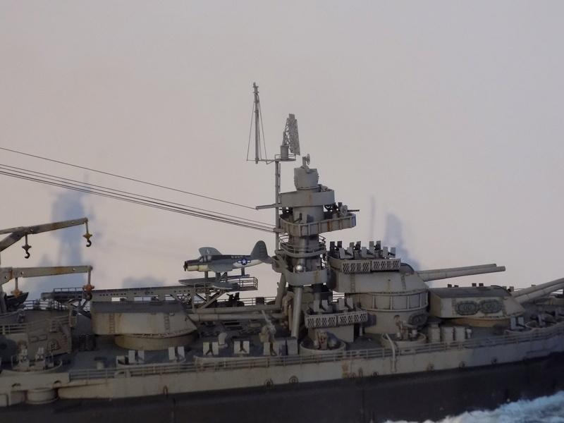 USS TEXAS 1/350 TRUMPETER Dscn0230