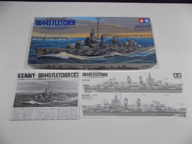 USS WILLIAM D PORTER DD-579 TAMIYA 1/350 Dscn0240