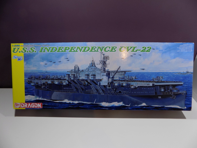 USS INDEPENDENCE CVL22 DRAGON 1/350 Dscn0251