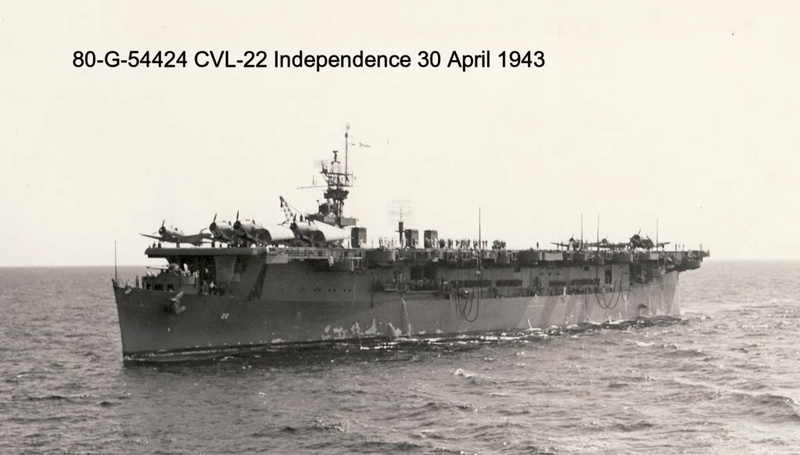 USS INDEPENDENCE CVL22 DRAGON 1/350 V7l8c410