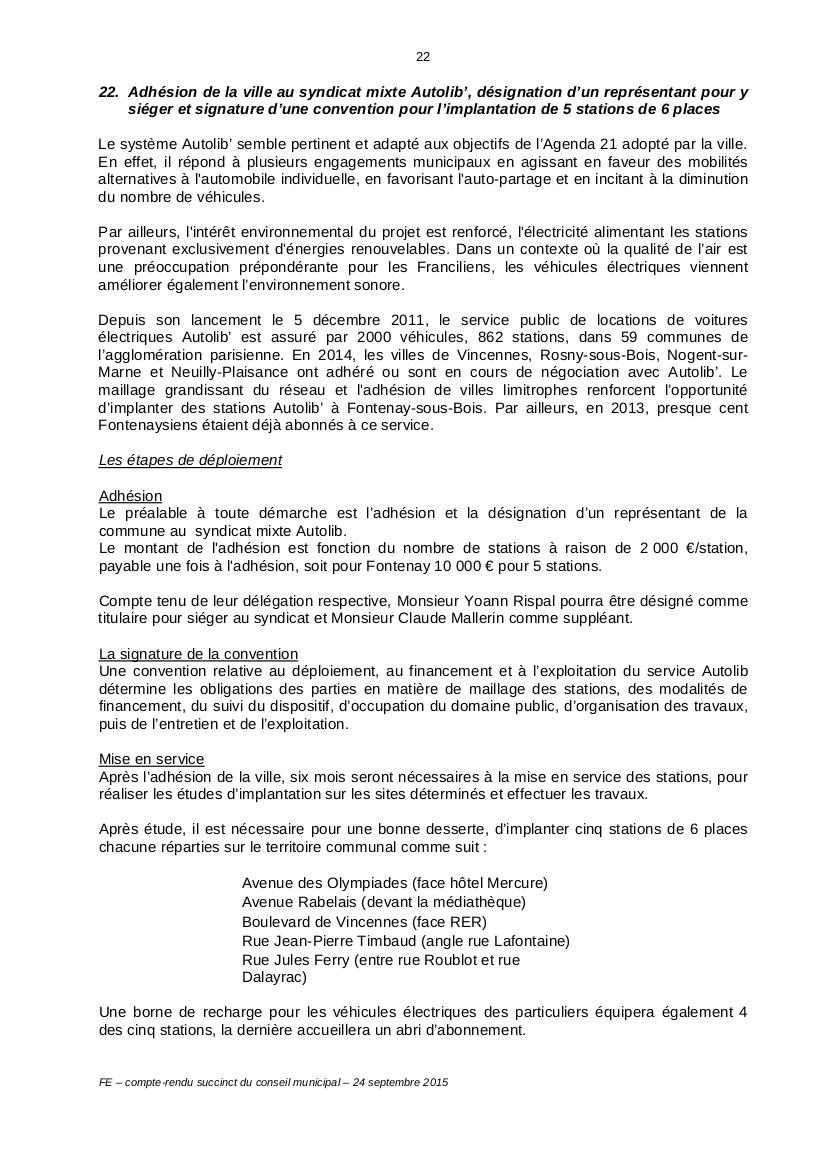 Autolib et autres autos en libre service - Syndicat Autolib' Vélib' Métropole 20150910