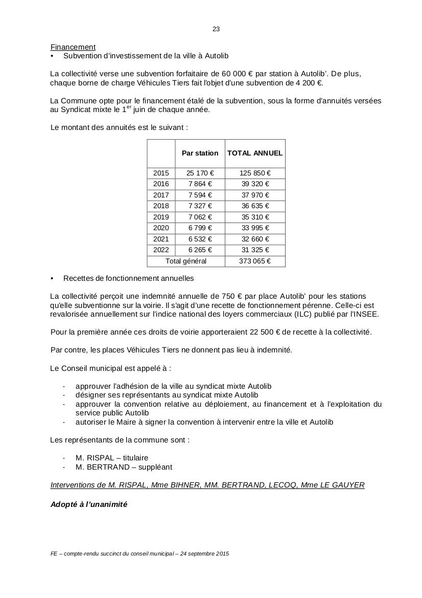 Autolib et autres autos en libre service - Syndicat Autolib' Vélib' Métropole 20150911