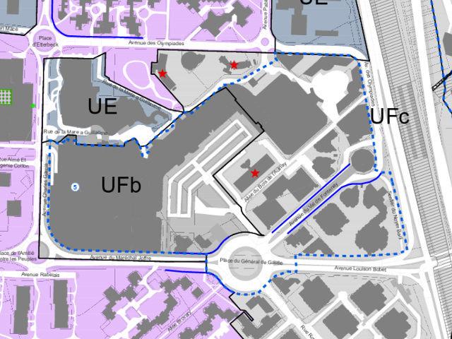 Restructuration dans un rayon de 400 m autour de la nouvelle gare du Val de Fontenay Captur12