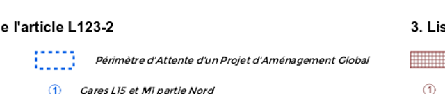 Restructuration dans un rayon de 400 m autour de la nouvelle gare du Val de Fontenay Captur17
