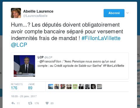 Laurence Abeille défouraille sur François Fillon Captur27