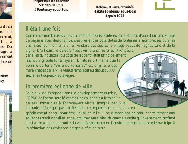 Production et distribution de l'électricté Opacma10