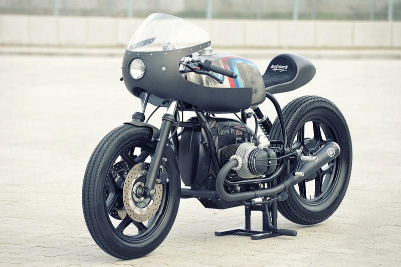 C'est ici qu'on met les bien molles....BMW Café Racer - Page 2 2910