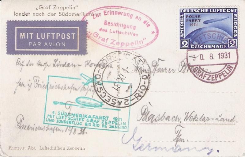 nach - Zeppelin - ungewöhnliche und seltene Destinationen Besich10