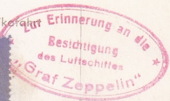 nach - Zeppelin - ungewöhnliche und seltene Destinationen Besich12