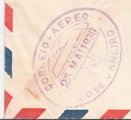 """nach - Südamerikafahrt 1930 (Rundfahrt-) Post nach Friedrichshafen"""" - Seite 7 Bond_o10"""