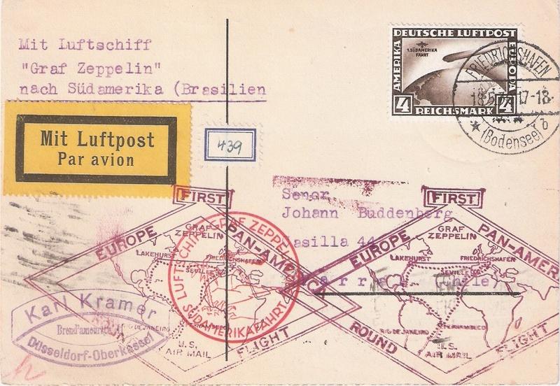 nach - Zeppelin - ungewöhnliche und seltene Destinationen Chile-12