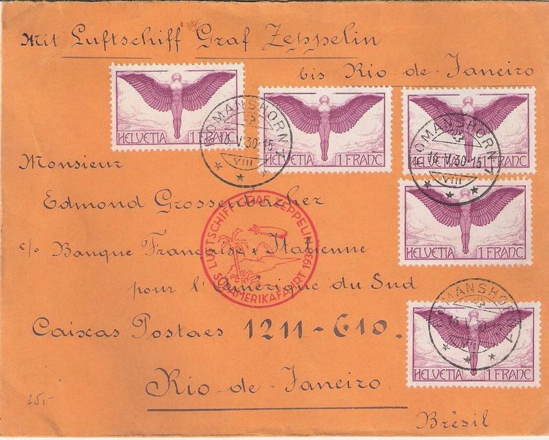 nach - Südamerikafahrt 1930, Post nach Rio de Janeiro - Seite 3 Schwei11