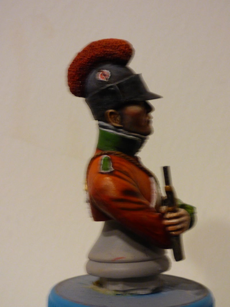 buste fusilier en EGYPTE ,transformé par Claude  P1000928