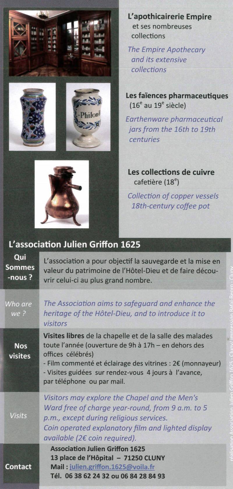 Présentation de l'Association Julien Griffon 1625 0113