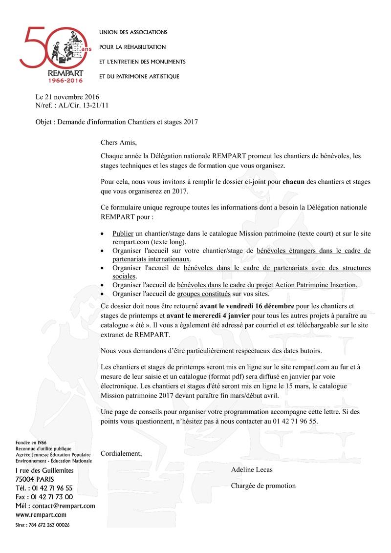 REMPART : RAPPEL-programmation chantier printemps 2017 128