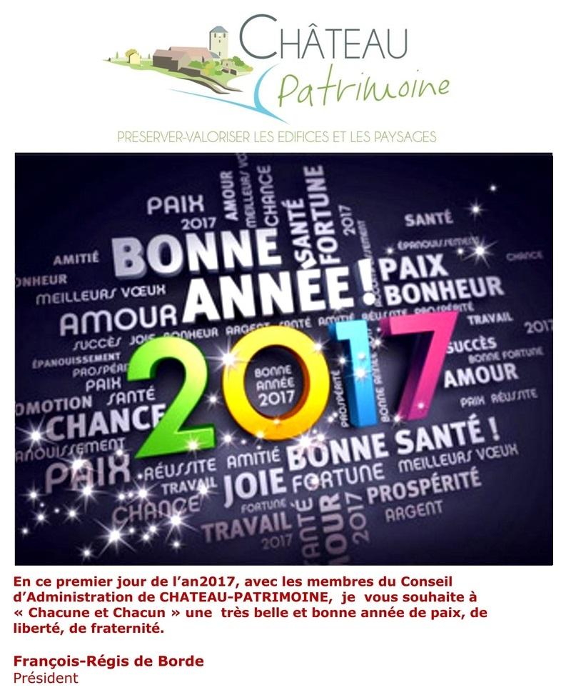 Vœux de Château Patrimoine 2017 13110