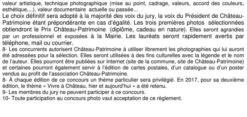 Château Patrimoine : Concours Photo 2017 « Vivre à Château hier et aujourd'hui » (architecture, activités agricoles ou artisanales, objets et outils usuels, vie sociale et culturelle, milieu naturel…) 229