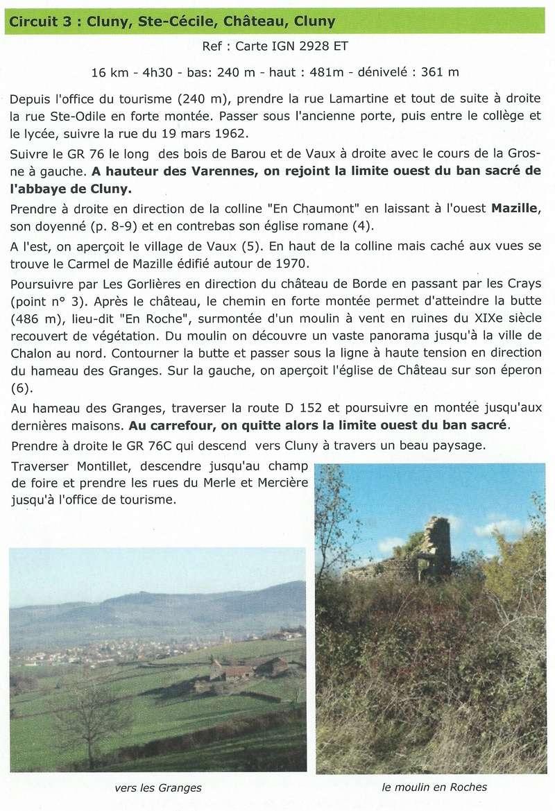 LOURNAND,   Des voies romaines au banc sacré Balade10