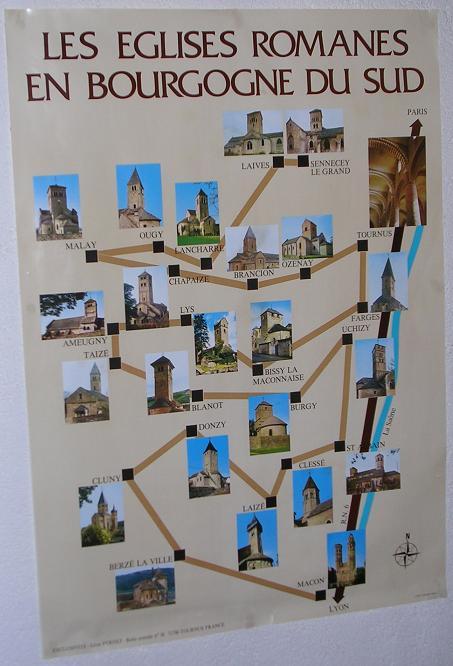 """Les Fiches Eglises """"pastorale du tourisme"""" de notre région  Bourgo10"""