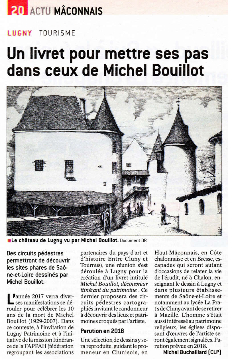 """""""Un livret pour mettre ses pas dans ceux de Michel Bouillot"""" (""""Le JSL"""" du dim 18.12.2016) Lugny_10"""