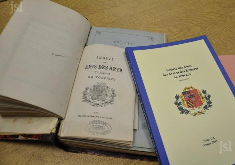 Société des Amis des Arts et des Sciences de Tournus  en Bourgogne du Sud Title-11