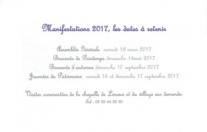 Vœux 2017 de Laives Patrimoine  Voeux_10