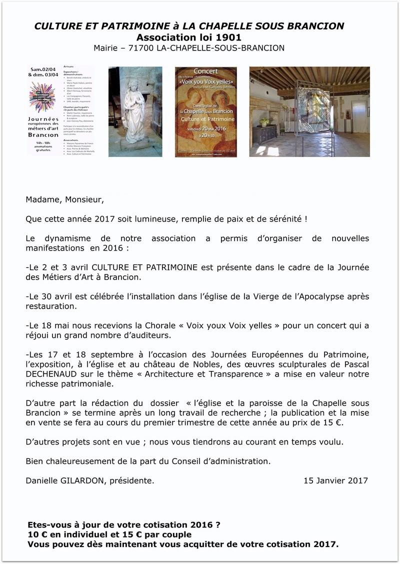 vœux  La Chapelle-sous-Brancion Culture et Patrimoine 2017 Voeux_19