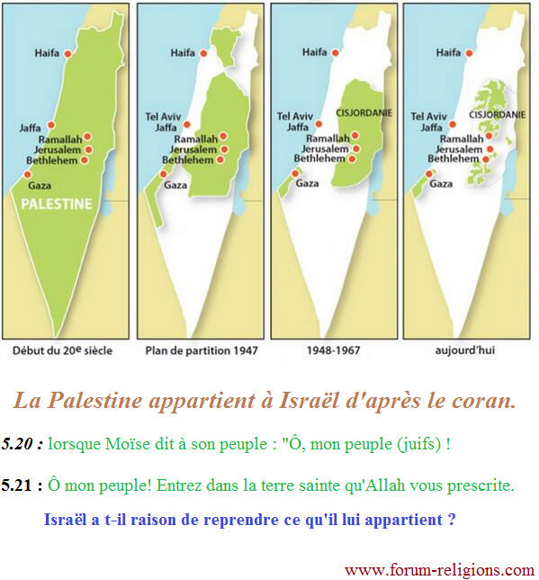 L'islam principale cause du conflit israelo-palestinien Palest10