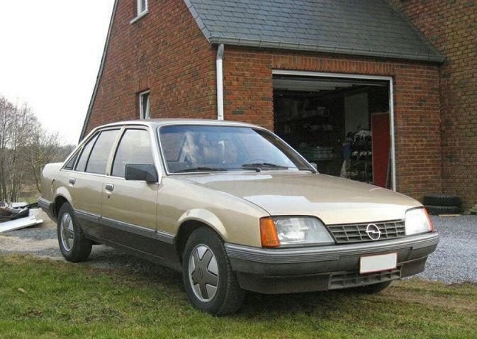 Opel Rekord E2 pour pièces Captur10