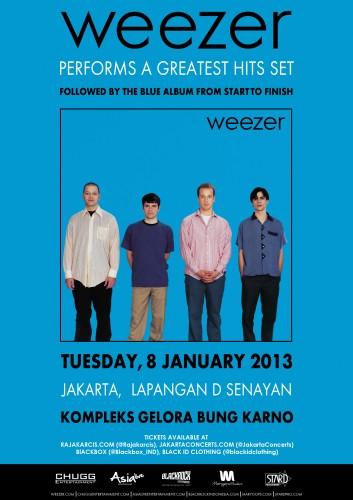 Weezer Live In Jakarta 08 January 2013 Weezer10