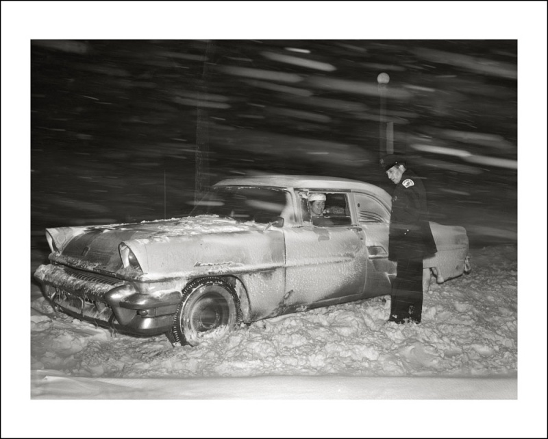 voitures et neige, cars and snow 63335110