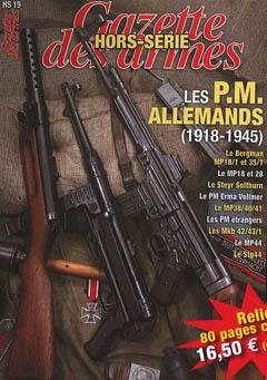 HORS SERIE de la GAZETTE DES ARMES : PM Allemands Hs_gda13