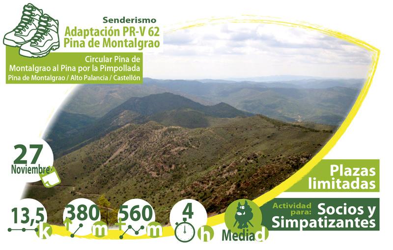 "Domingo 27 de noviembre de 2016 ""Ascensión al Monte Pina. Pina de Montalgrao. Alto Palancia. Castellón."" Pina de Montalgrao Activi10"
