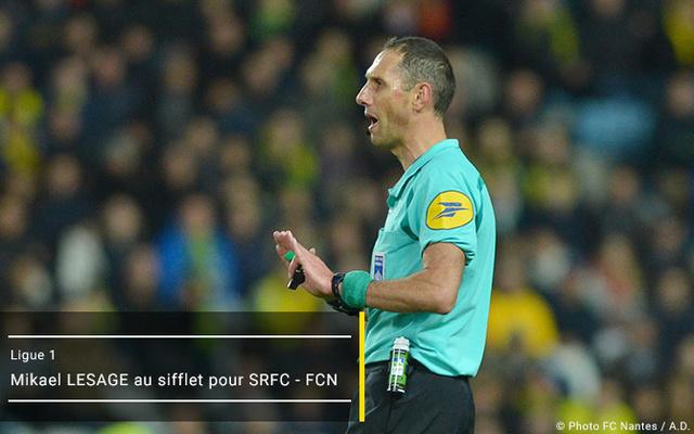 L1 J22  Samedi 28 janvier 2017 - 20:00 Stade Rennais / FC Nantes Arbitr18