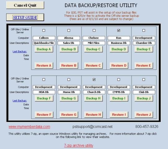 Data Backup Manager 10-09-2012 - δημιουργήσετε αντίγραφα ασφαλείας εύκολα! 3395ba10
