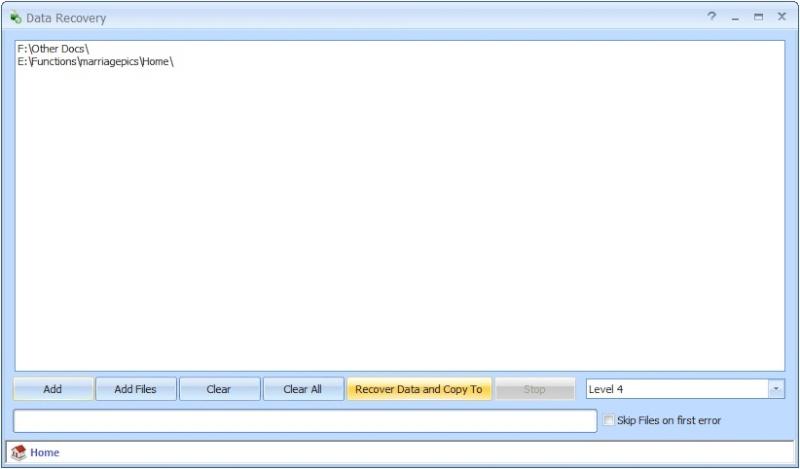 Data Recovery 1.2 - Aνακτήσετε δεδομένα από γδαρμένα και κατεστραμμένα CD, DVD, BlueRay Datare10