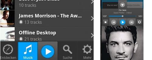 Τα 6 καλύτερα δωρεάν Music Players για Android Simfy10