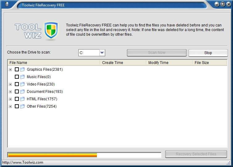 Toolwiz File Recovery 1.3.0.0 - Aνάκτηση δεδομένων  Toolwi11