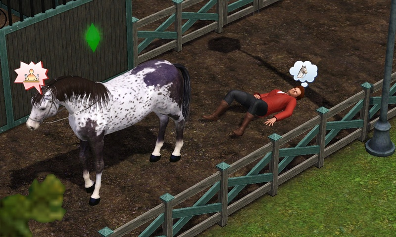 "[Challenge] Teens and Horses ""Sims 3"" - Page 2 Screen21"