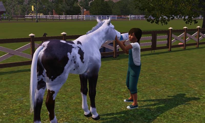 """[Challenge] Teens and Horses """"Sims 3"""" raconté par Vavaveau Screen26"""